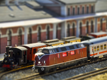 Riding the Rails at Jamestown Library