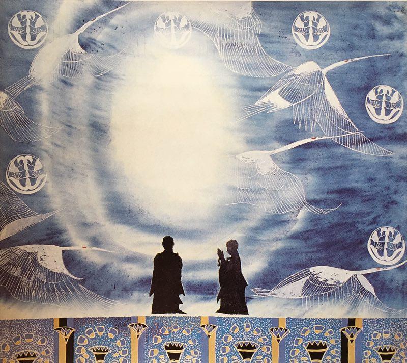 巜长安乐舞》大型系列組画节选一一《佛法之九天之灵》(53