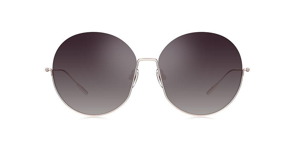 Bolon Eyewear Gafas de Sol BL7106 Modelo ELLA Front View Black Gradient