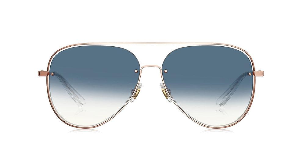 Bolon Eyewear BL7059 Gafas de Sol GROOVE Blue Gradient Lenses Front View