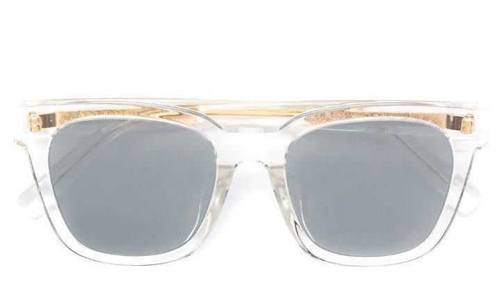 Bolon Eyewear Gafas de Sol Collins Transparent Frame Front View