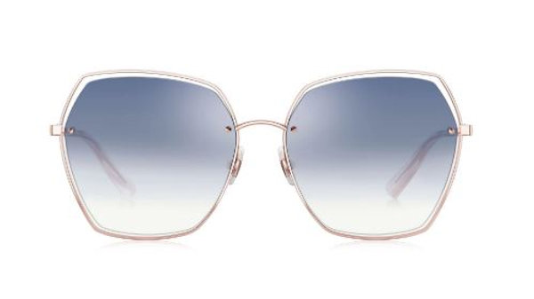 Bolon Eyewear BL7085 Gafas de Sol LYLA Light Blue Gradient Front View