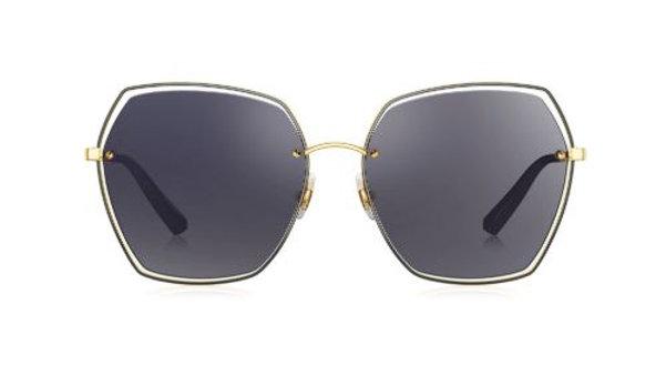 Bolon Eyewear gafas de SOl LYLA Front View Black Lenses Gold Frame