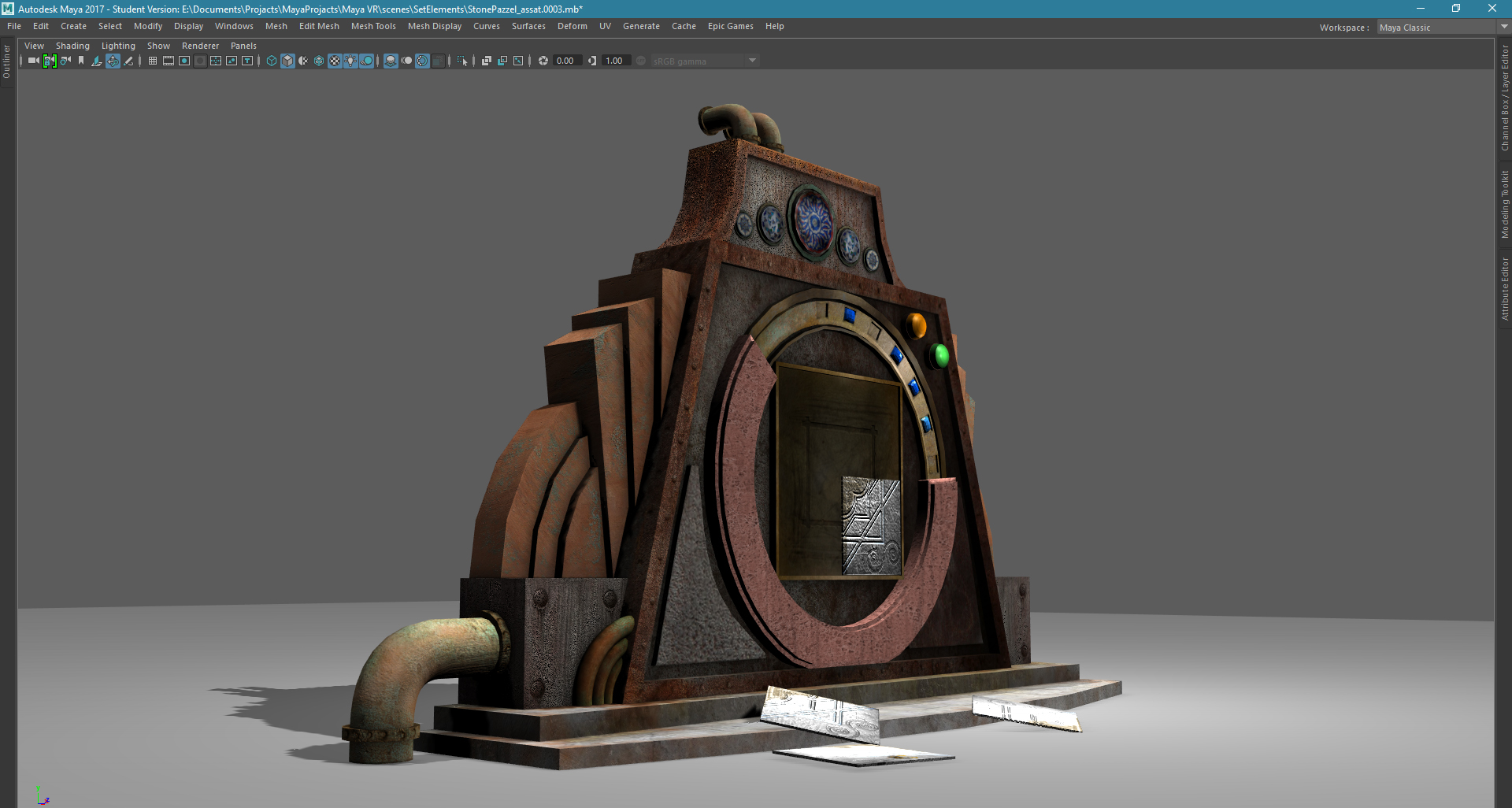 VR game puzzle_01