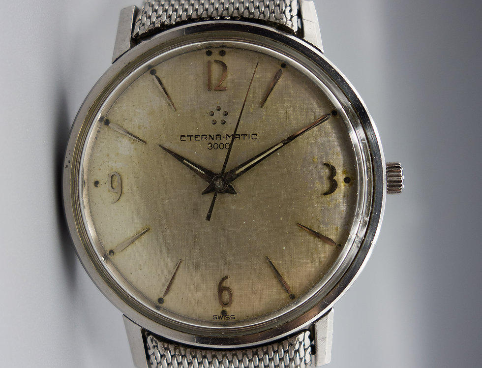 1969 Eterna-Matic 3000 with Original Bracelet