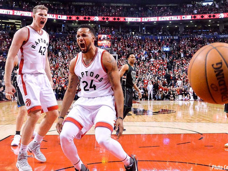 Raptors Young Second Unit Producing in Toronto