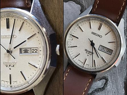 Seiko V.F.A Quartz , more than a rare quartz watch.