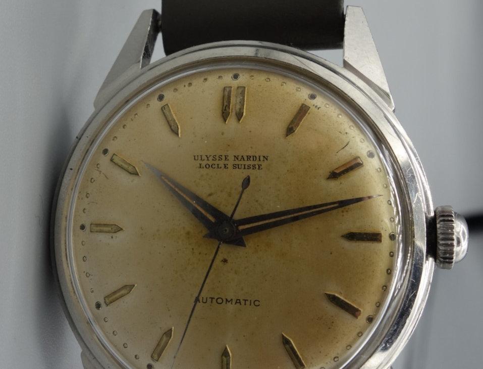Unpolished 1951 Ulysse Nardin Chronometer Calatrava