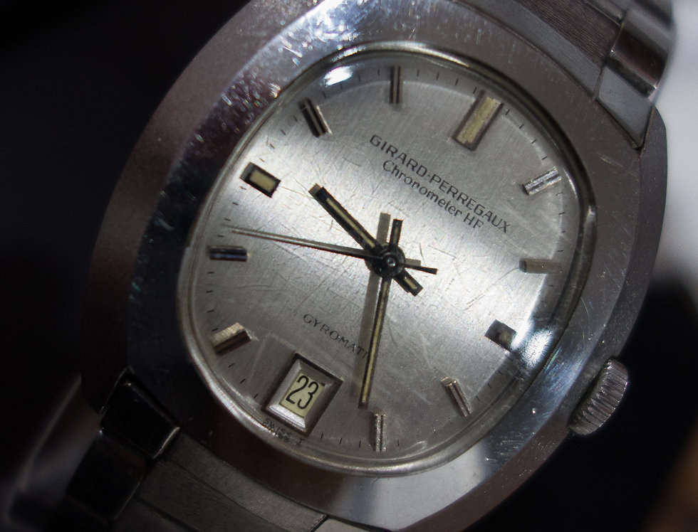 Girard Perregaux High Frequency Chronometer with the Original Bracelet