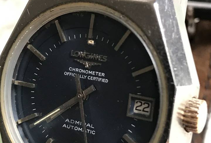 1973 Longines Blue Chronometer Admiral