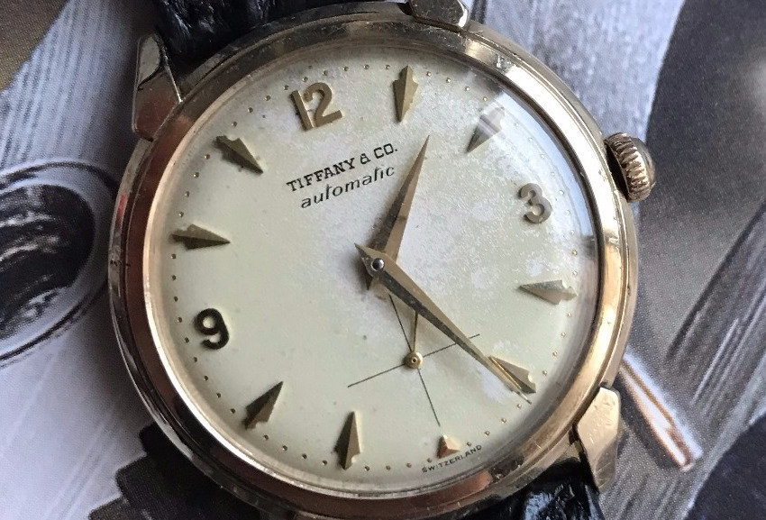 Tiffany & Co Solid Gold Automatic