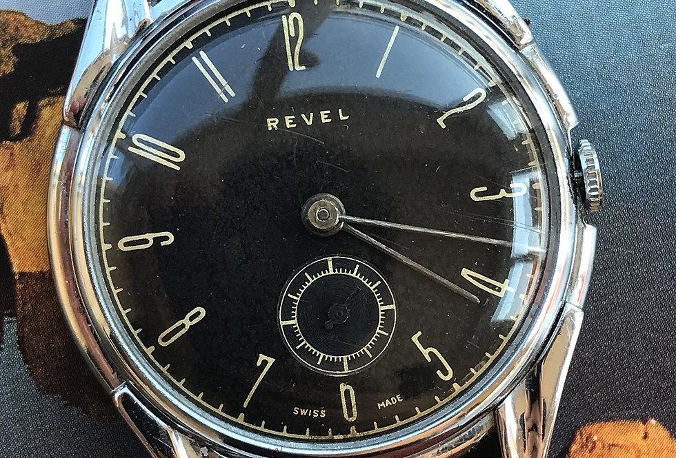 Revel 1950 Large Manual Wounding Men's Watch