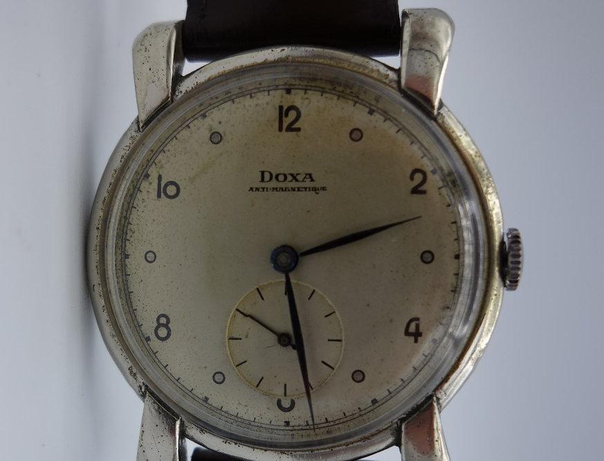 1947 Doxa Turtle Lug Oversize
