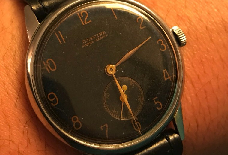 Glycine 1942 WW2 Millitary Watch