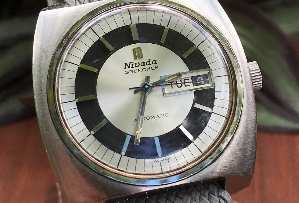 Nivada Grenchen Day Date