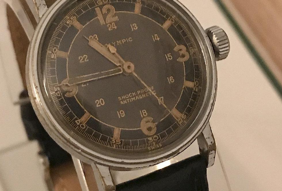 Olympic WW2 Radium 24hr Watch