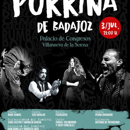 """XIX Festival de Flamenco """"Porrina de Badajoz"""""""