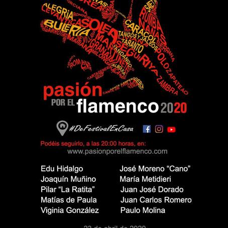 """El circuito """"Pasión por el Flamenco"""" ofrece un concierto online promovido por la Diputación de Badaj"""
