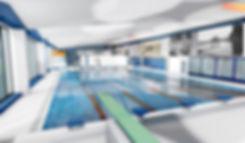 Oulaisten uimahallin allashuone