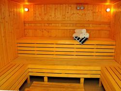 Sauna in Canvas Hotel Shymkent