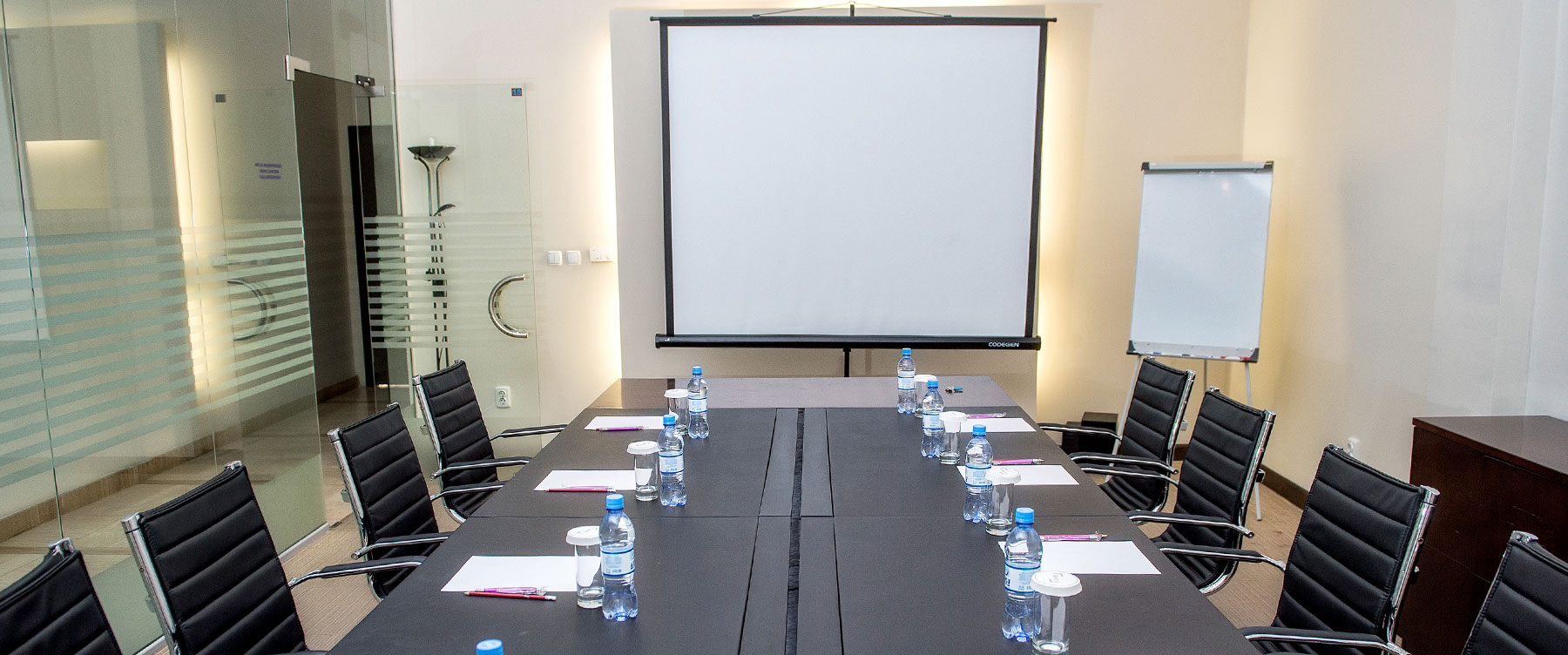 Meeting room in Canvas Hotel