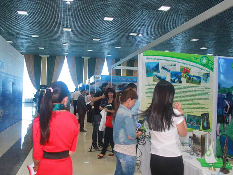 Tourism Exhibition in Shymkent 2014