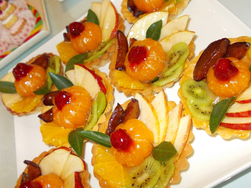 Fruit Baskets dessert