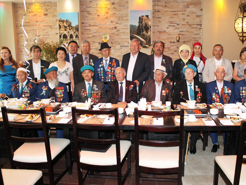 70th anniversary of the Victory - Canvas Hotel Shymkent
