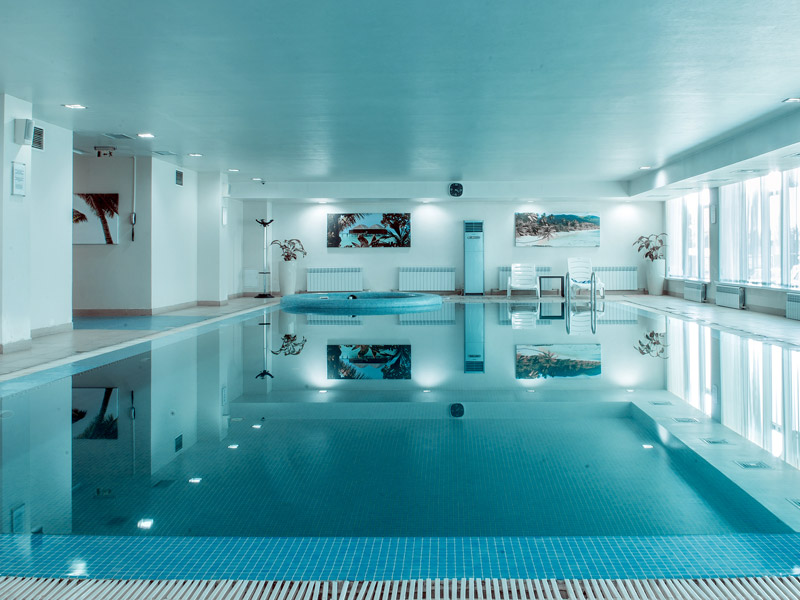 Swimming Pool in Canvas Hotel