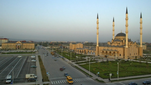 Grozny city view