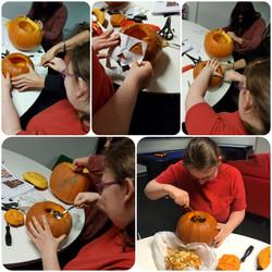 Pumpkin carving 29.10.18