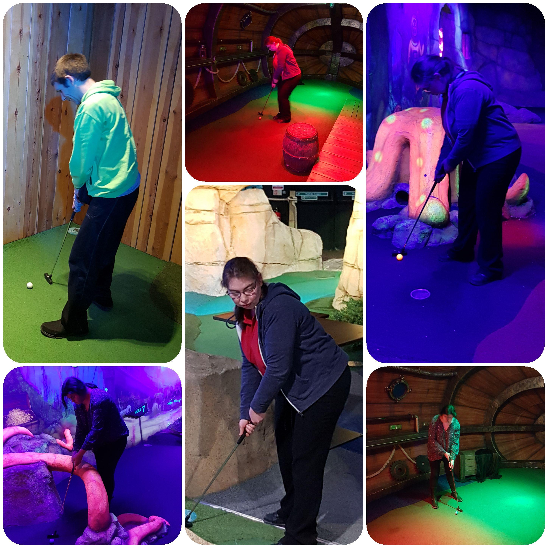 mini golf 11.02.19