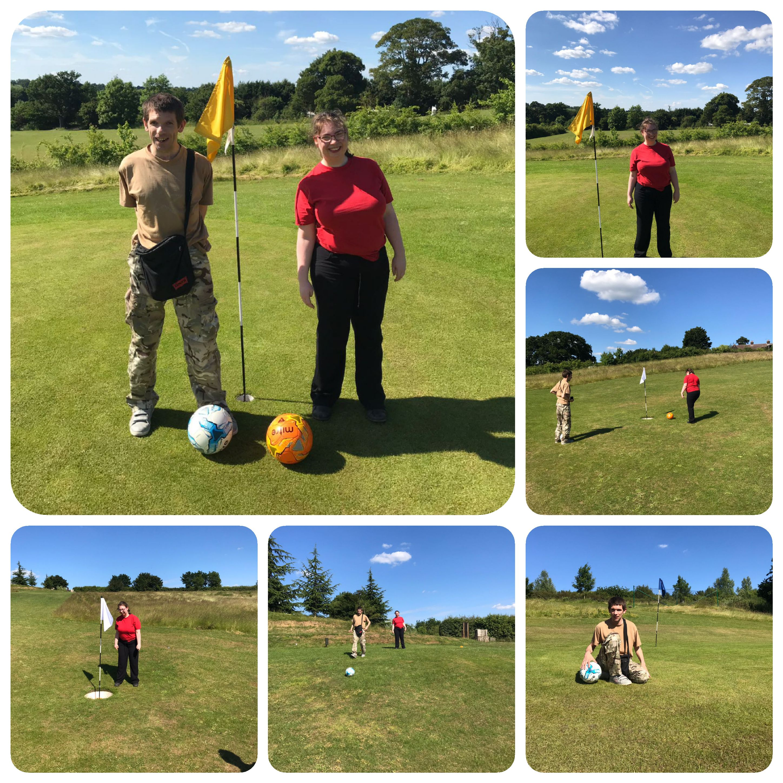 Foot golf 11.06.18