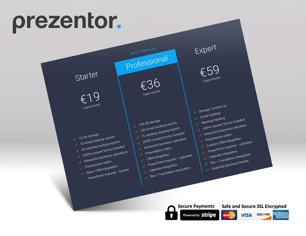 Get instant access to Prezentor