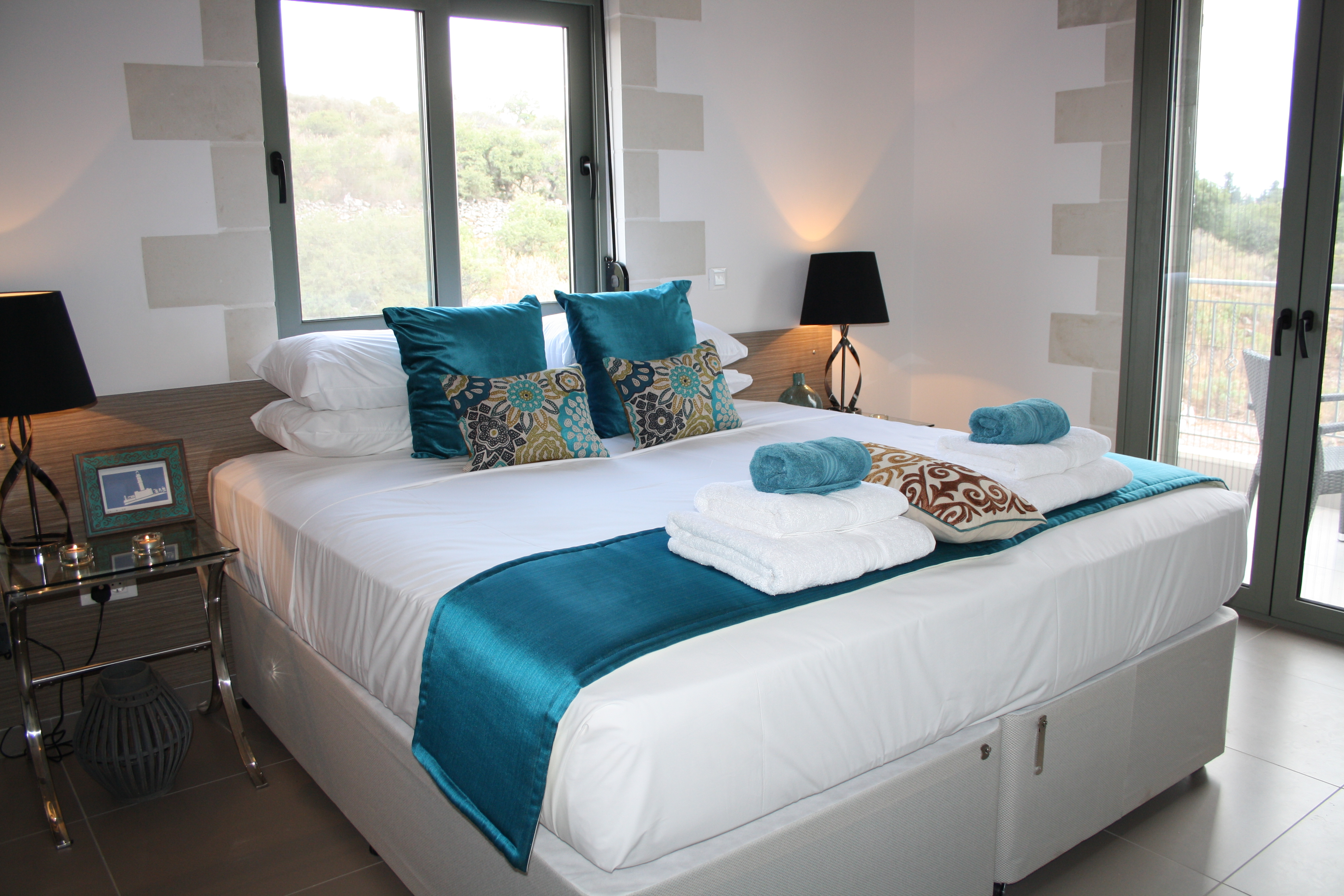 The Teal room