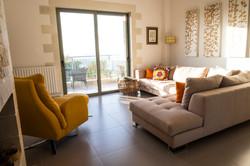Lounge looking towards Souda Bay