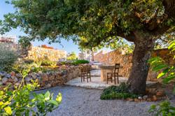 Relax under the oak tree