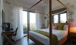 green room view from door