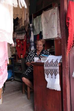 chania lace lady