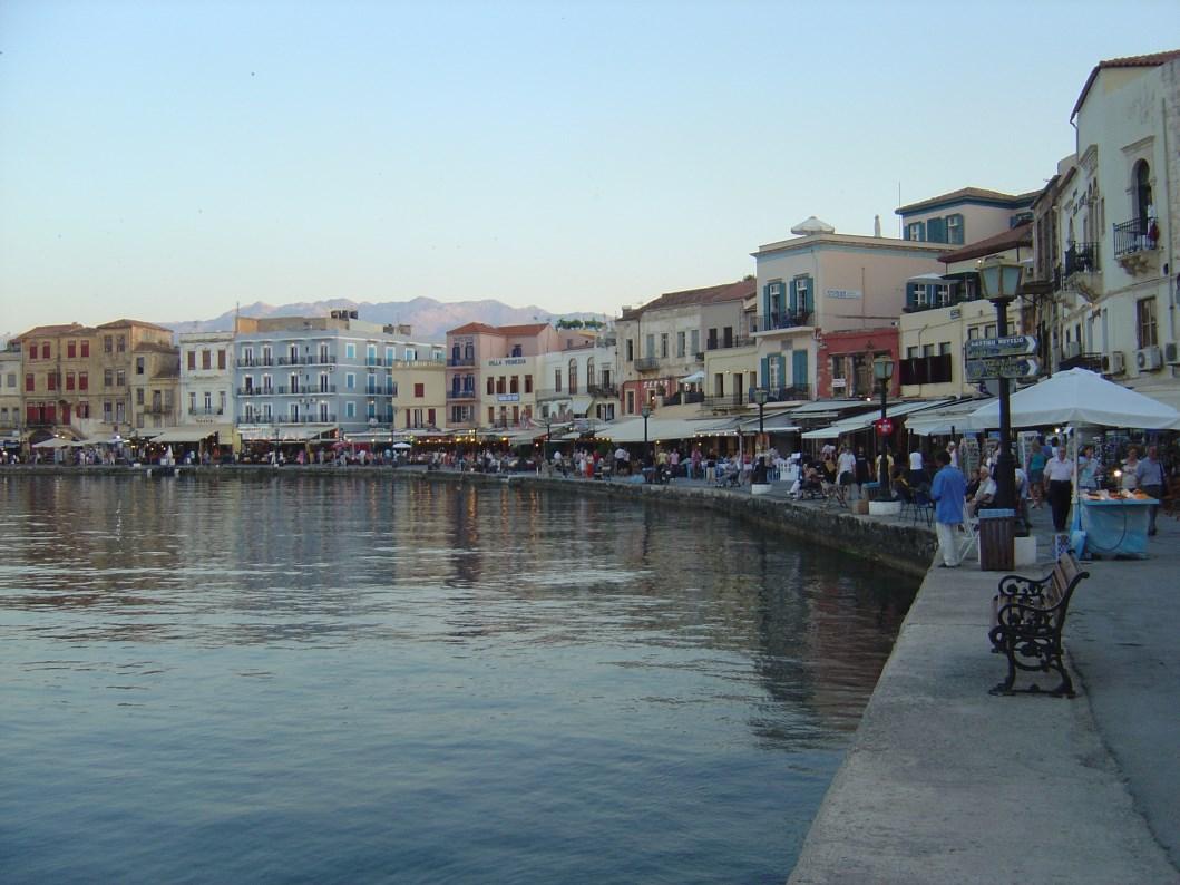 chania venetian harbour