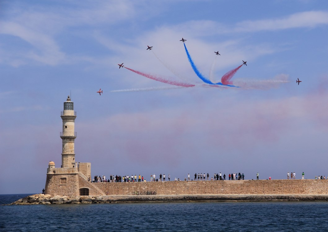 Chania battle of Crete starburst