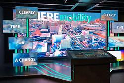 Digital space. CES, Las Vegas