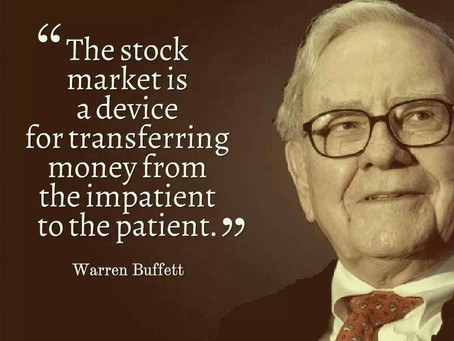 4 Investment quotes you should live by