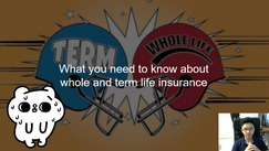 What you need to know about whole and term life insurance that even agents get wrong