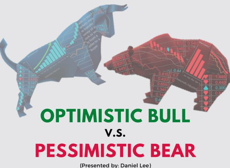 Market Outlook: Optimistic Bull vs Pessimistic Bear