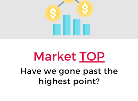 Have we gone past the highest point in the market?