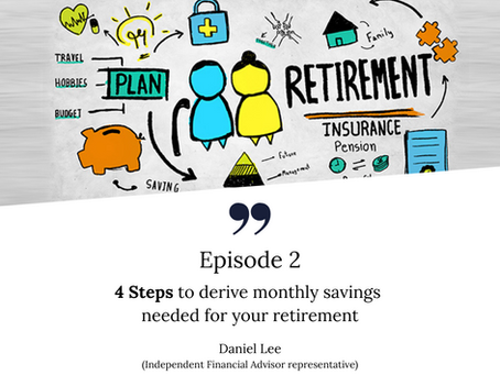 4 steps to derive the monthly savings needed for your retirement