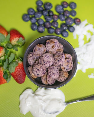 Strawberry Blueberry Bliss Balls