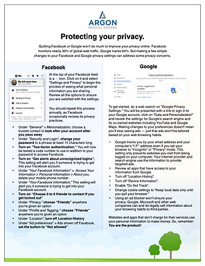 Argon Medical   Protect Your Privacy Jun
