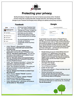 Xtreme | Protect Your Privacy June 21.00